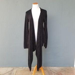 Barefoot Dreams Wrap Style Open Long Cardigan